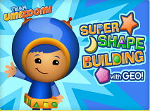 Team Umizoomi - Super Shape Building With Geo