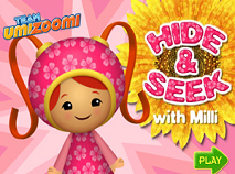 Team Umizoomi - Hide & Seek With Milli