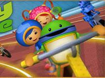 Team Umizoomi Umi Games Mighty Bike Race