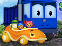 Team Umizoomi UmiCar Shape Mountain Race
