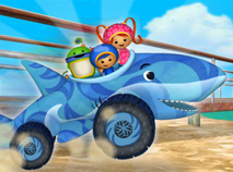 Team Umizoomi Shark Car Race To The Ferry
