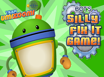 Team Umizoomi - Bot's Silly FIx It Game