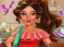 Elena din Avalor Makeover Real