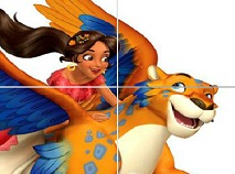 Elena din Avalor Sliding Puzzle