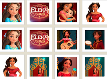 Elena of Avalor Memory Match