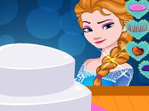 Elsa Decoreaza Tortul de Ziua Indragostitilor