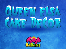 Queen Elsa Cake Decor