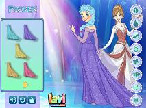 Elsa Frozen de Imbracat