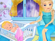 Elsa Hraneste Bebelusul la San