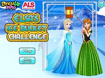 Elsa Ice Bucket Challenge