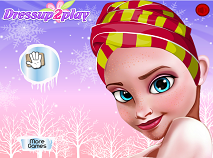 Elsa Frozen Cool Makeover