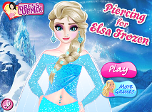 Piercing for Elsa Frozen