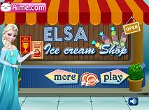 Elsa la Magazinul de Inghetata