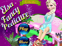 Elsa Fancy Pedicure