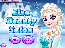 Elsa la Salonul de Infrumusetare