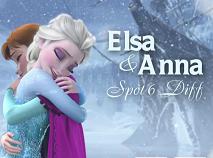 Elsa si Anna 6 Diferente