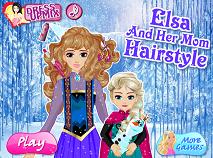 Elsa si Mama la Coafor