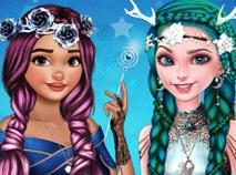 Elsa si Moana Frizuri Fantastice