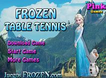 Elsa si Olaf Tenis de Masa
