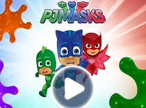 PJ Masks Coloring Game