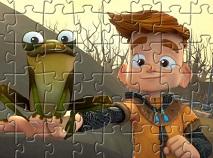 Eu si Cavalerul Meu Puzzle