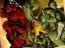 Familia Hulk Puzzle