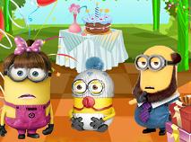 Familia Minion Petrecere de Ziua de Nastere