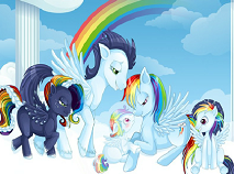 Rainbow Dash Family