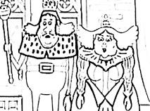 Familia Regala de Colorat