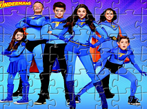 Thundermans Super Heroes Puzzle