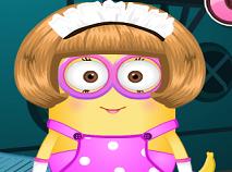 Fata Minion de Imbracat