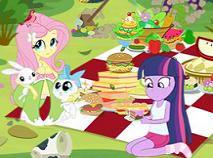 Fetele Equestria Curetenie la Picnic