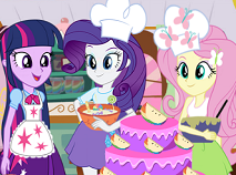 Equestria Cooking Cake