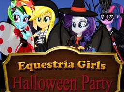 Fetele Equestria Petrecere de Halloween