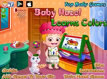 Fetita Hazel Invata Culorile