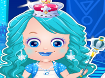 Fetita Hazel Printesa de Gheata