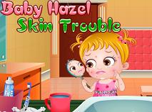Fetita Hazel Probleme cu Pielea
