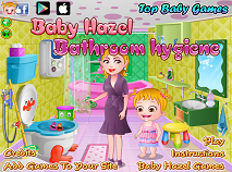 Baby Hazel Bathroom Hygene