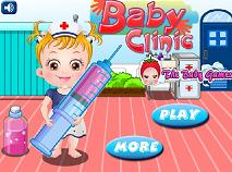 Fetita Hazel la Clinica