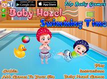 Fetita Hazel la Inot