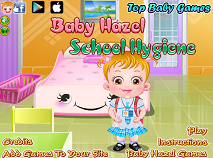 Baby Hazel School Hygene