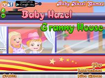 Fetita Hazel si Casa Bunicii