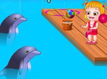 Fetita Hazel si Delfinii