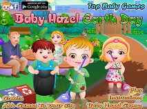 Fetita Hazel si Ziua Pamantului