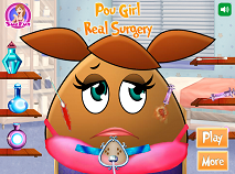 Pou Girl Real Surgery