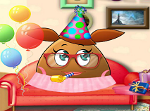 Pou Girl Birthday Party