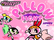 The Powerpuff Girls Pillow Fight