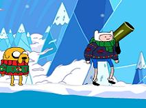 Finn si Jake Lupta de Iarna