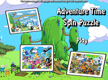Adventure Time Spin Puzzle