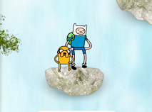 Adventure Time Waterfall Jump